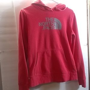 WOMEN'S THE NORTH FACE HOODED SWEATSHIRT